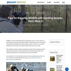 Tips for Enjoying Wildlife with Spotting Scopes- Don't Miss It - Airsoft Optics