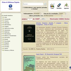 Enlace de bibliotecas digitales con 110088 ebooks