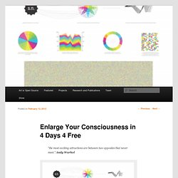 Enlarge Your Consciousness in 4 Days 4 Free
