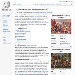 L'Enlèvement des Sabines (Poussin)
