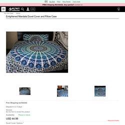 Buy Enlightened Mandala Duvet Cover and Pillow Case