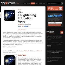 20+ Enlightening Education Apps