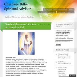 Need enlightenment? Contact Archangel Jophiel!