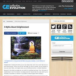 5 Myths About Enlightenment