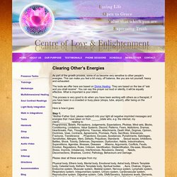 Centre of Love and Enlightenment – Soul Contract Reading, Spiritual Healing, Soul Purpose, Lightbody Integration, Body Consciousness, Conscious Relationship, Karmic Matrix