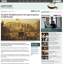 BBC History - Scottish Enlightenment: the age of genius in Edinburgh