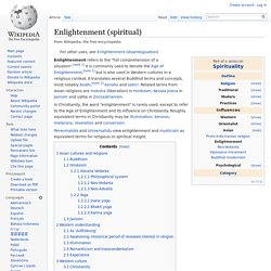 Enlightenment (spiritual)