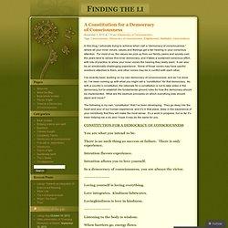 Enlightenment « Finding the li