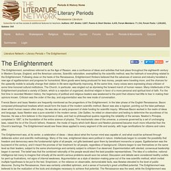 The Enlightenment - Literature Periods & Movements