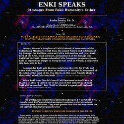 Enlilites Bomb Marduk's Bablylon Spaceport, Confound Languages