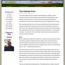Enneagram Central - Subtype Four Intimate