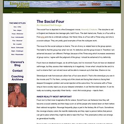 Enneagram Central - Subtype Four Social