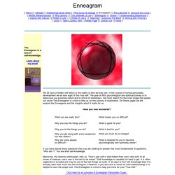 Enneagram: A tool for self-knowledge