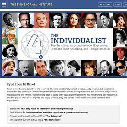 Enneagram Type 4: The Individualist - The Enneagram Institute