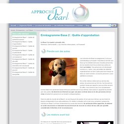 Approche PEARL - Enneagramme Base 2: Quête d'approbation
