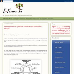 T-Ressources: Ennéagramme et Quadrant d'Ofman une association aidante