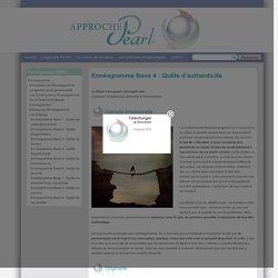 Approche PEARL - Ennéagramme Base 4: Quête d'authenticité