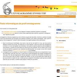 L'ennéagramme envolutif - Formation certifiante, coaching, outils (tests gratuits, comparateur de profils, ...)