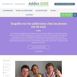 Enquête sur les addictions chez les jeunes (14-24 ans)
