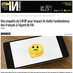 Une enquête de L'IFOP pour Impact AI révèle l'ambivalence des Français...