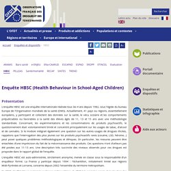 Enquête HBSC (Health Behaviour in School-Aged Children