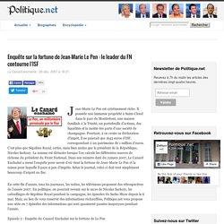 Enquête sur la fortune de Jean-Marie Le Pen : le leader du FN contourne l'ISF