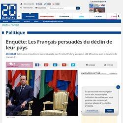 Enquête: Les Français persuadés du déclin de leur pays