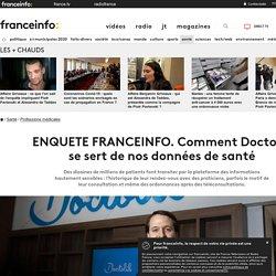 ENQUETE FRANCEINFO. Comment Doctolib se sert de nos données de santé