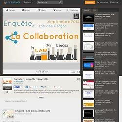 Enquête : Les outils collaboratifs