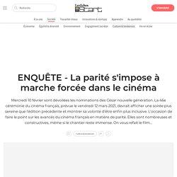 ENQUÊTE - La parité s'impose à marche forcée dans le cinéma