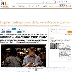 Enquête : quelles pratiques de lecture en France, et comment