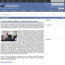 La drôle d'enquête du CNRS sur la radicalisation des lycéens