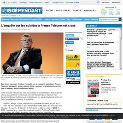 L'enquête sur les suicides à France Telecom est close