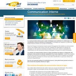 Enquêtes en ligne pour la communication interne