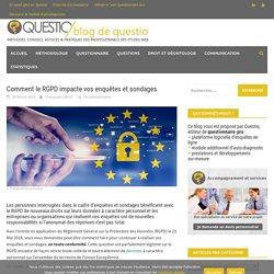 Impact du RGPD sur vos enquêtes et sondages - le blog de Questio