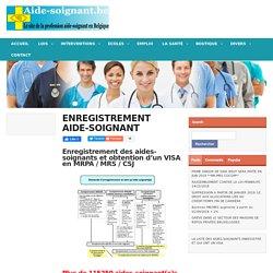 Enregistrement aide-soignant(e)