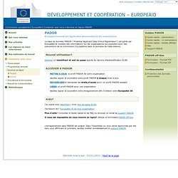 PADOR : EU financing