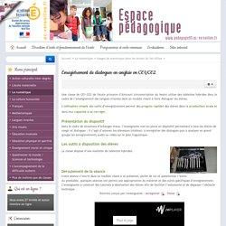 Enregistrement de dialogues en anglais en CE1/CE2
