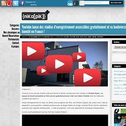 Youtube lance des studios d'enregistrement accessibles gratuitement et va bouleverser l'industrie, bientôt en France !