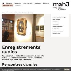 Enregistrements audios