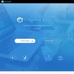 Enregistrer toute l'activité de votre écran ainsi que l'audio