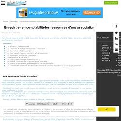 Enregistrer en comptabilité les ressources d'une association loi 1901