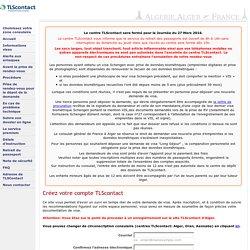 S'enregistrer - TLScontact Centre TLScontact - Algérie, France