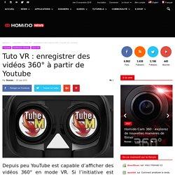 Tuto VR : enregistrer des vidéos 360° à partir de Youtube