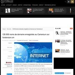 135 000 noms de domaine enregistrés au Cameroun sur l'extension.cm