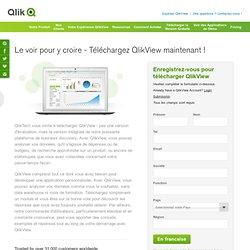 Enregistrez-vous pour télécharger QlikView