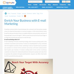 Enrich Your Business with E-mail Marketing