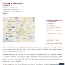 Enrichir une carte Google Maps : ex de tâche finale