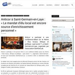 Anticor à Saint-Germain-en-Laye : «Le mandat d'élu local est encore source d'enrichissement personnel»