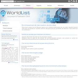 Enrichissement & Valorisation de données - WorldList - Acquisition & Fidélisation client